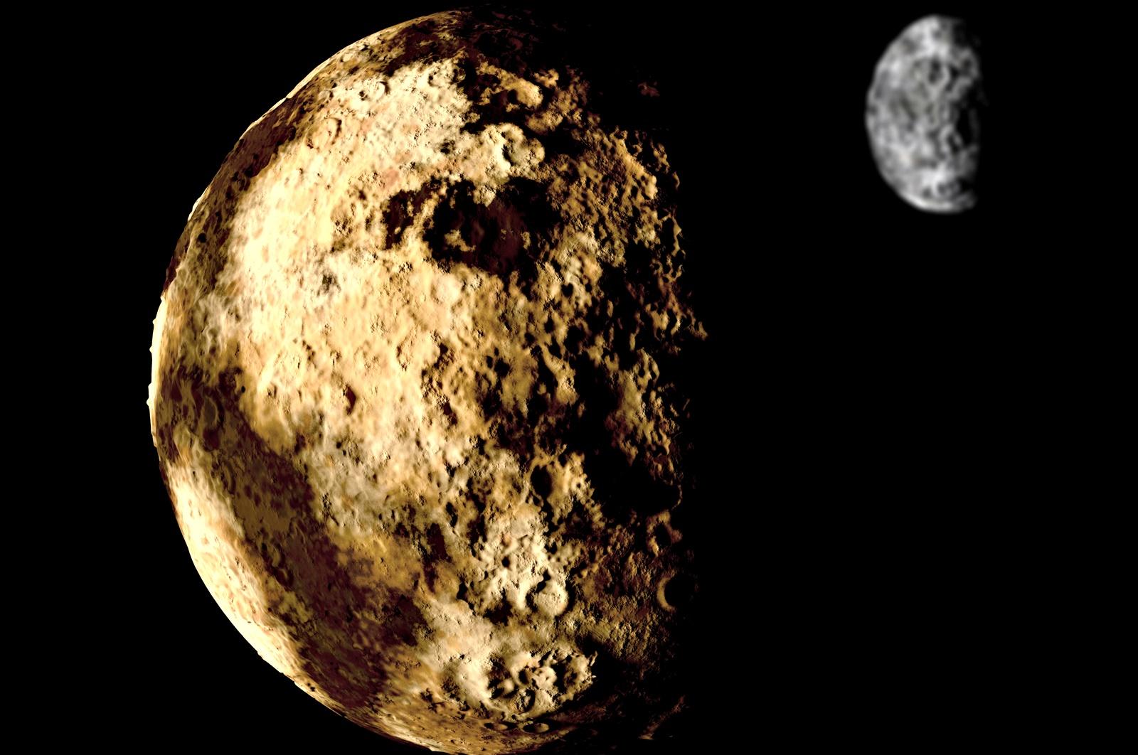 Планета ли е Плутон?<br /> На 24 Август 2006 г. Плутон е изхвърлен от планетарното семейство на Слънцето, тъй като се проваля по третата точка от новото определение за планета, а именно да не е сателит на друга планета и да няма в своята орбита други подобни по размер формации - до него е сравнимият с него по големина спътник Харон, с който обикалят около общ център. И въпреки че учените достигат до някакво решение през 2006 г., те не достигат до консенсус и въпросът за статута на Плутон продължава да се обсъжда и до днес.