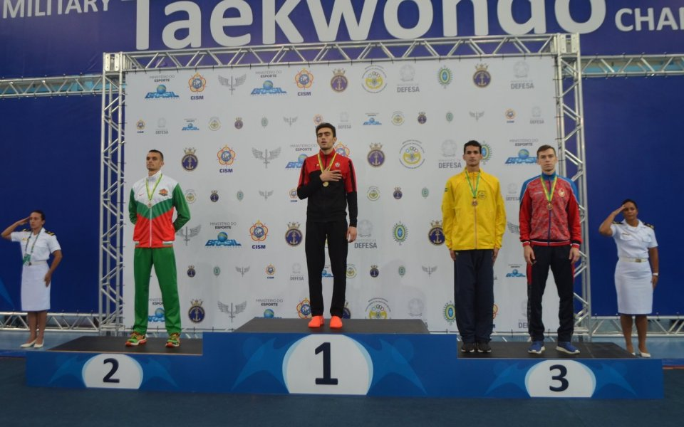 Владимир Далаклиев със сребърен медал в Рио де Жанейро