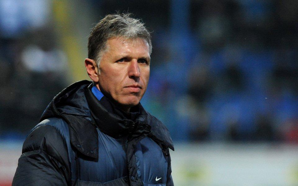 Треньорът на Чехия: Англия е фаворитът в групата, останалите сме равностойни