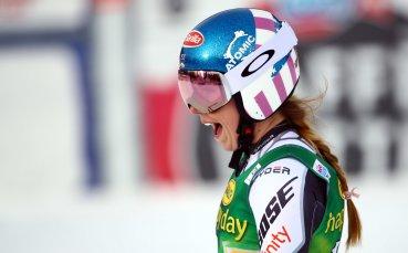 Микаела Шифрин не спира с победите през сезона в ските