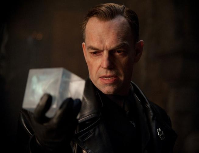 """Йохан Шмид / Червеният череп – """"Капитан Америка: Първият отмъстител"""" (2011); Режисьор: Джо Джонстън"""