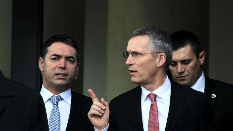 <p>НАТО: Готови сме за Македония&nbsp;</p>