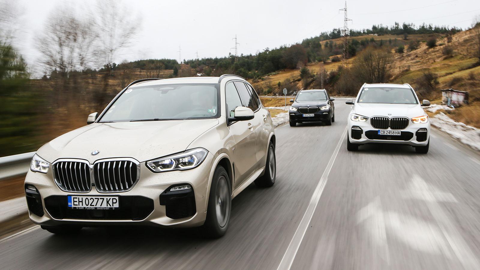 BMW X5 M50d галерия