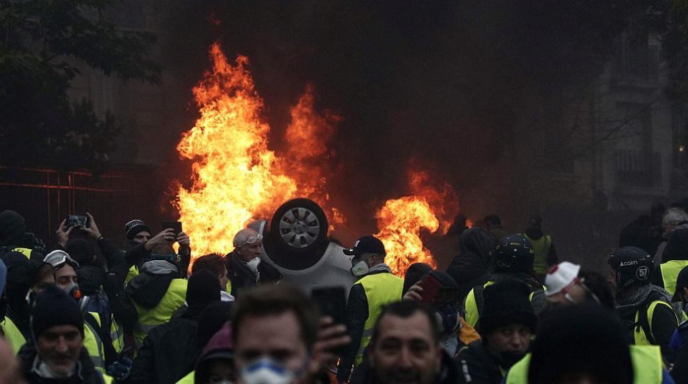 Осма жертва от началото на протестите във Франция