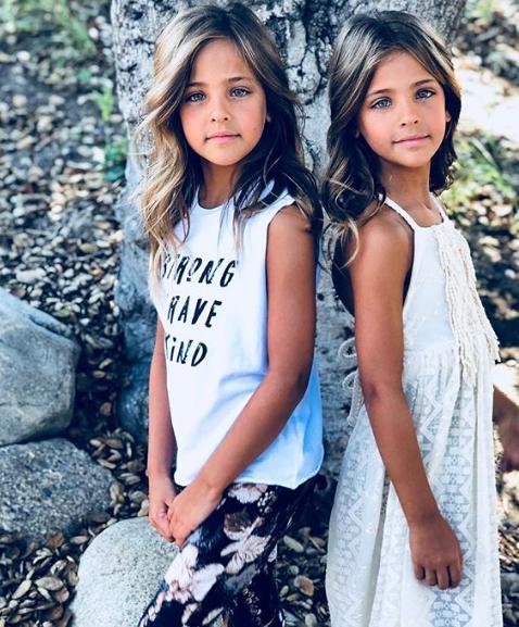 Наричат Лий Роуз и Ава Мари най-красивите момичета на света. 8-годишните близначки имат над 840 хил. последователи в Инстаграм, а десетки модни марки ги ползват за лица на артикулите си. Мениджър на сестрите от Лос Анджелис е тяхната не по-малко красива майка Джаки. За първи път Джаки опитала да въвлече дъщерите си в модния бизнес, когато били едва на 6 месеца. Мотивът ѝ бил, че постоянно получавала комплименти колко хубави са момичетата.