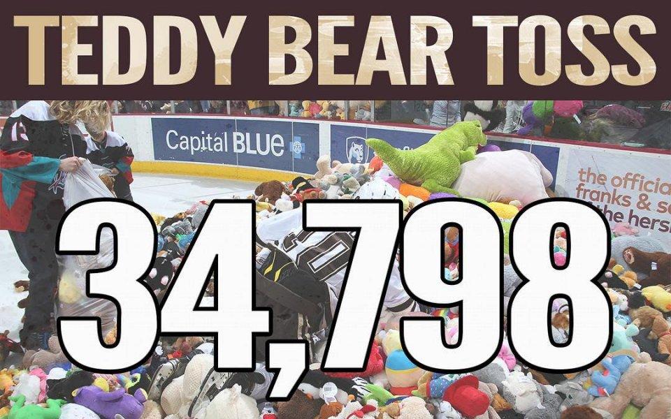 Нов световен рекорд по хвърляне на плюшени мечета в САЩ