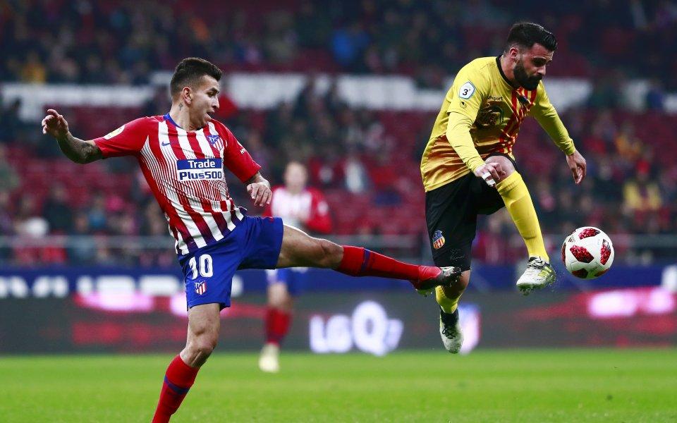 Атлетико ще играе в 1/8-финалите за Купата след голова фиеста