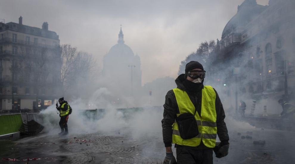 Парижката полиция се готви за най-лошия сценарий на протестите през уикенда