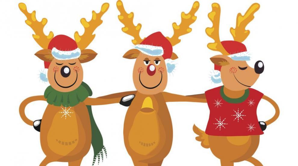 Защо елените от впряга на Дядо Коледа не се смеят на червения нос на Рудолф?
