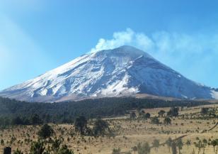 Вулканът Попокатепетъл изригна