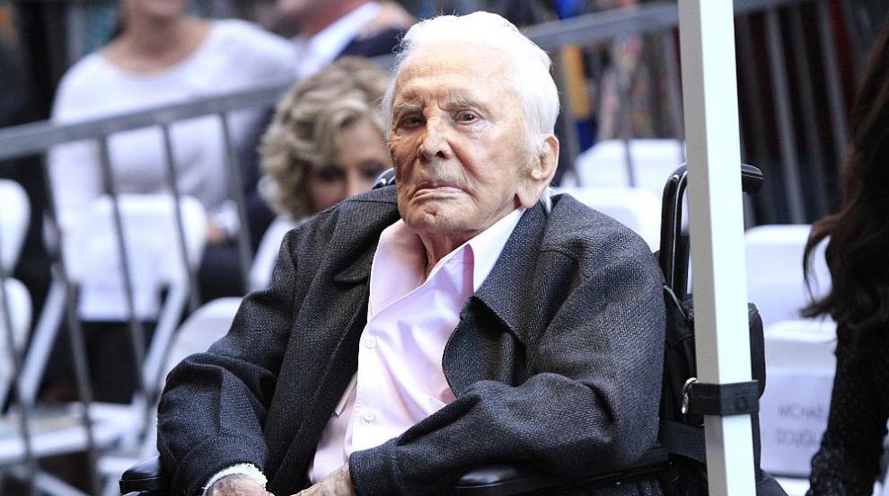 Кърк Дъглас на 102 години: Благодарен съм за всичко, което получих през...