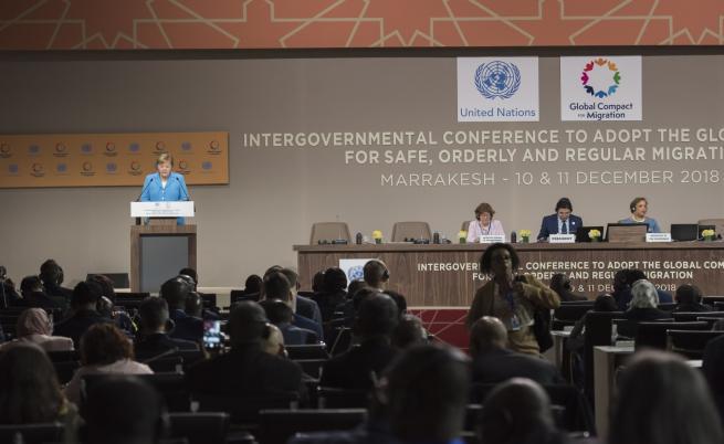 Конференция на ООН прие пакта за миграцията