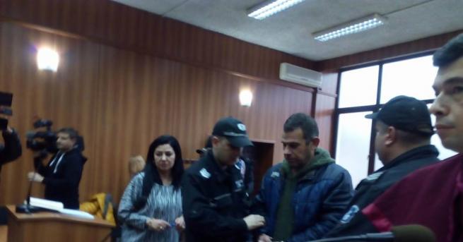 Пловдивският Окръжен съд остави за постоянно в ареста 42-годишния бивш