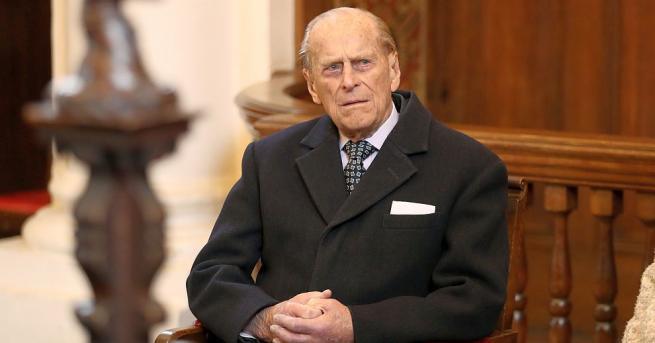 97-годишният съпруг на кралица Елизабет Втора, принц Филип, стана участник