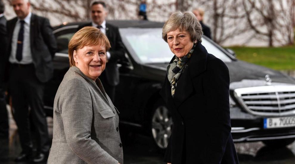 """Меркел: """"Няма възможности"""" за промяна на споразумението за Брекзит"""