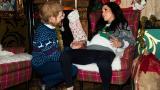 <p>Живи или от восък: бременната Меган и принц Хари</p>