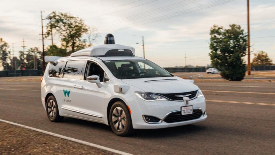 Автономна кола на Waymo