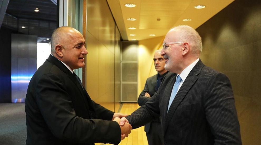 Борисов в Брюксел: Нашите летища са доказано шенгенски