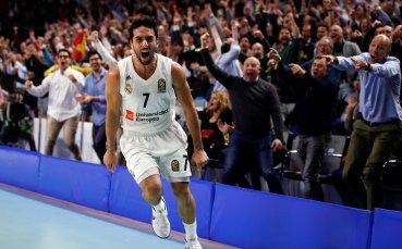 Реал Мадрид с разгром над Барселона в Евролигата