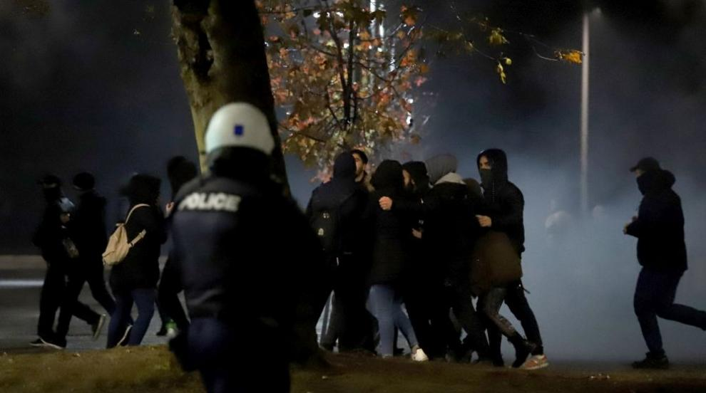 Гръцката полиция използва сълзотворен газ срещу демонстранти