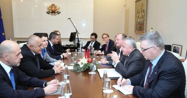 Министър-председателят Бойко Борисов се е срещнал със заместник-държавния секретар на