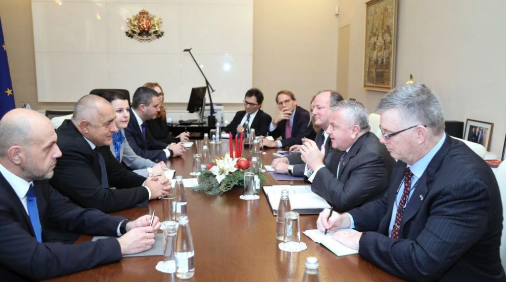 Борисов се срещна със заместник-държавния секретар на САЩ