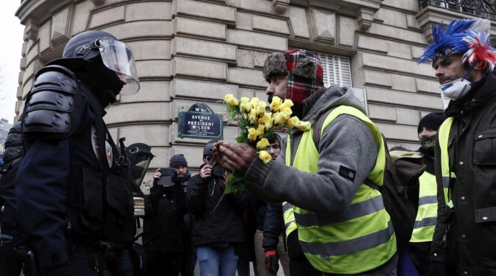 """21 задържани преди протестите на """"жълтите жилетки"""" в Париж"""