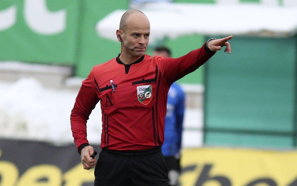 Съдията на финала за Купата получи и Лудогорец - Левски