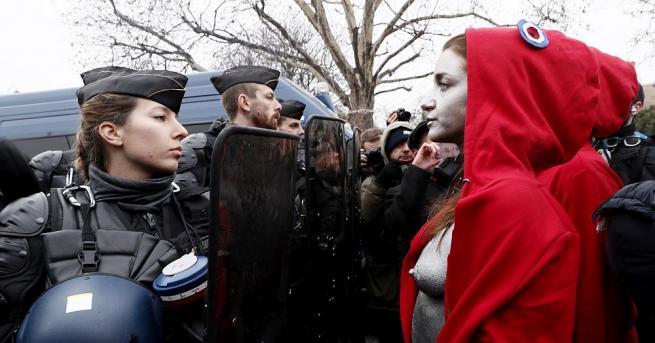 """Пореден уикенд на протести на """"жълтите жилетки"""" във Франция. Десетки"""