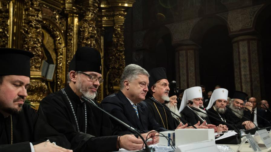 Порошенко: Създадохме автокефална православна църква в Украйна