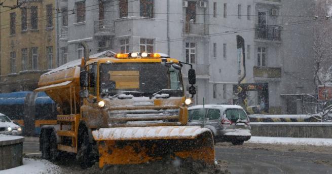 Тежка зимна обстановка в София и региона Тежка зимна обстановка