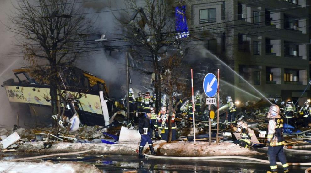 41 души пострадаха при взрив в кафене в Япония (СНИМКИ/ВИДЕО)