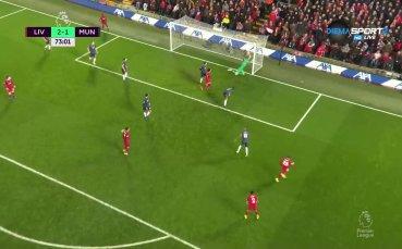 Ливърпул отново поведе срещу Юнайтед
