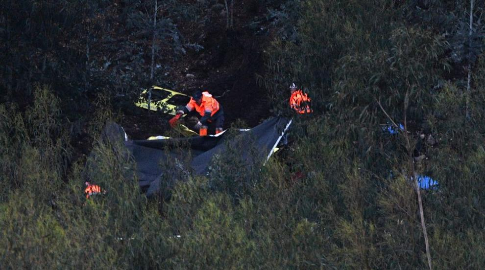 Хеликоптер се разби в Португалия, четирима загинаха