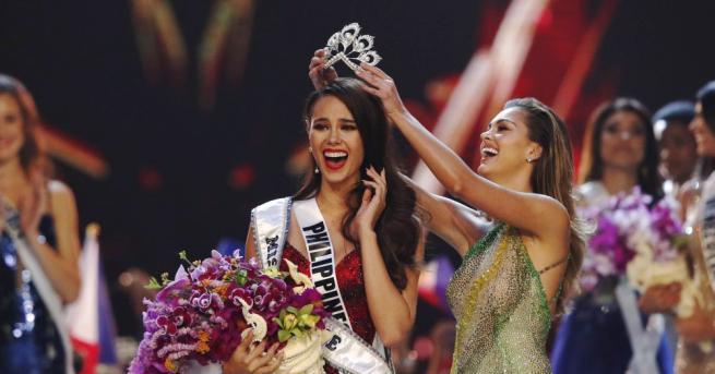 Мис Филипини - 24-годишната Катриона Грей, бе коронована за Мис