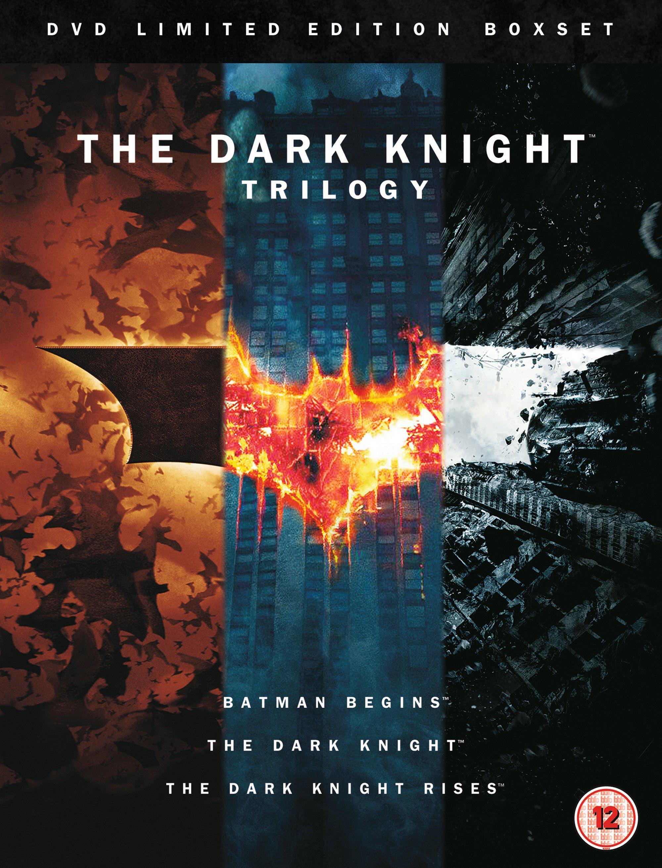 "12. The Dark Knight Trilogy / ""Трилогията за Черния рицар"" (2005 - 2012) – Режисьор: Кристофър Нолан; Участват: Крисчън Бейл, Гари Олдман, Майкъл Кейн"