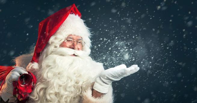 Дядо Коледа отправи традиционното си послание от дома си в