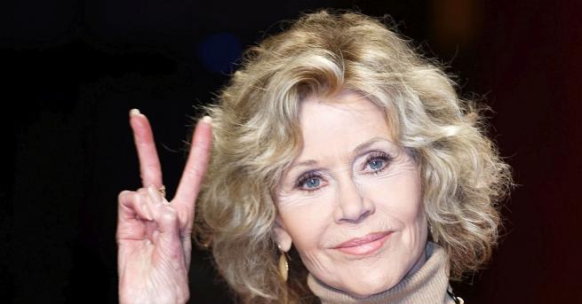 81-годишната холивудска актриса Джейн Фонда е била арестувана на 12
