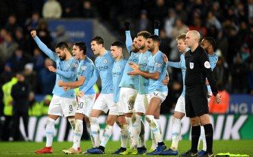 Сити пребори Лестър с дузпи за Купата на лигата