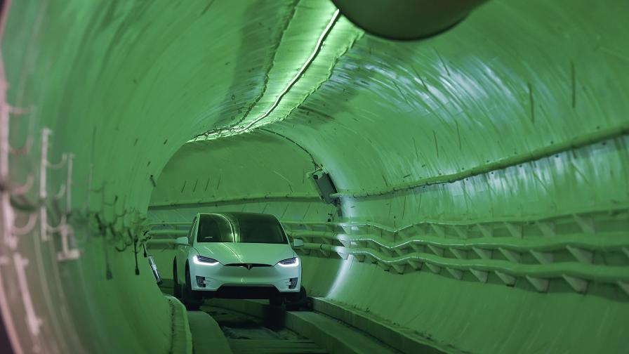 Високоскоростния тунел под Лос Анджелис