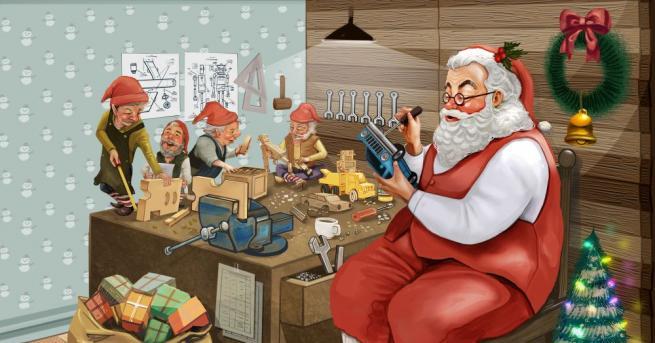 Срещата с истинския Дядо Коледа в дома му в Лапландия
