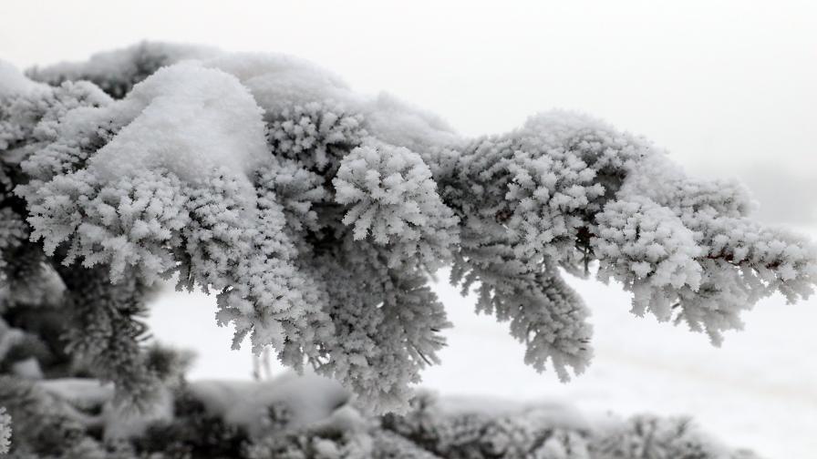 <p>Къде е най-студено днес, след дни затопляне</p>