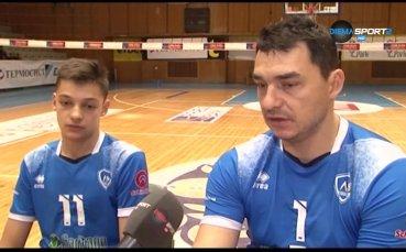 Владо Николов с трогателна подкрепа за малките волейболисти