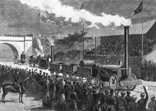 """Пухтящият дявол"""" - първият пътен локомотив в света с парен двигател -  Любопитно - DarikNews.bg"""