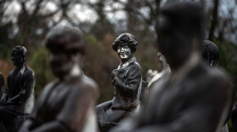 """Изоставен парк в Япония е """"дом"""" за над 800 каменни статуи (СНИМКИ)"""