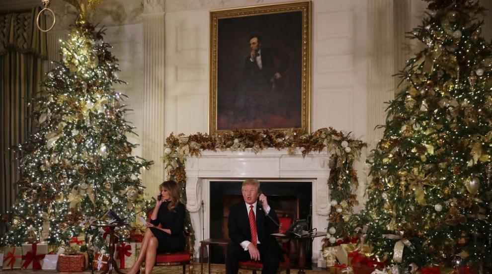 Според Тръмп 7-годишните американчета не трябва да вярват в Санта Клаус