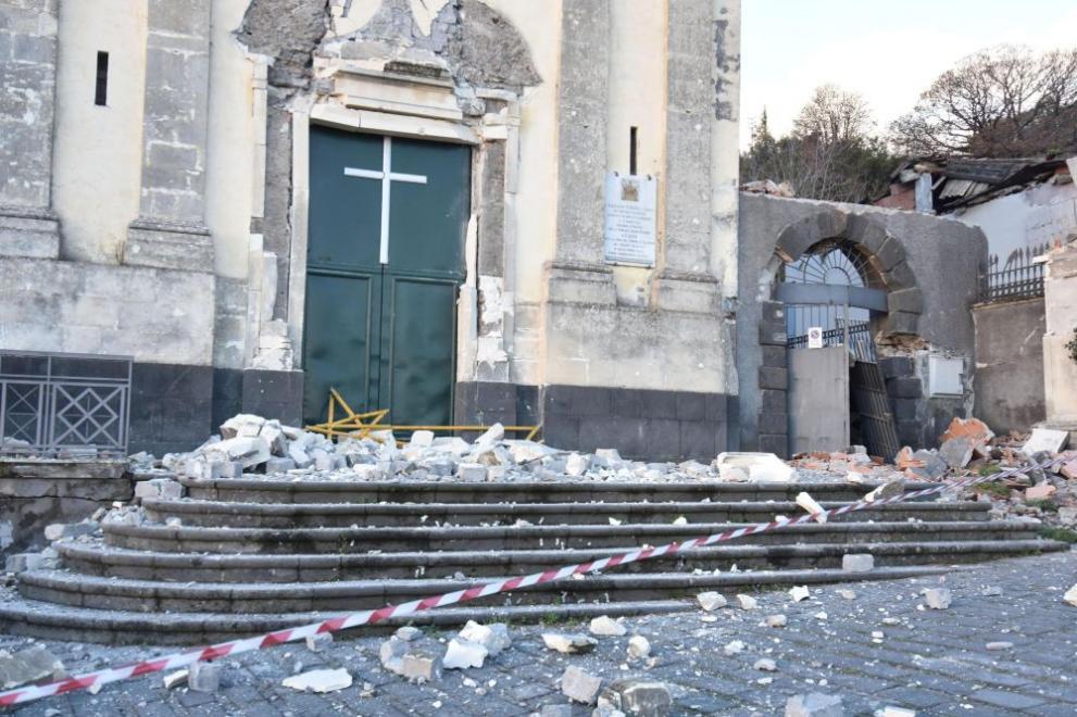 Резултат с изображение за земетресение в Сицилия
