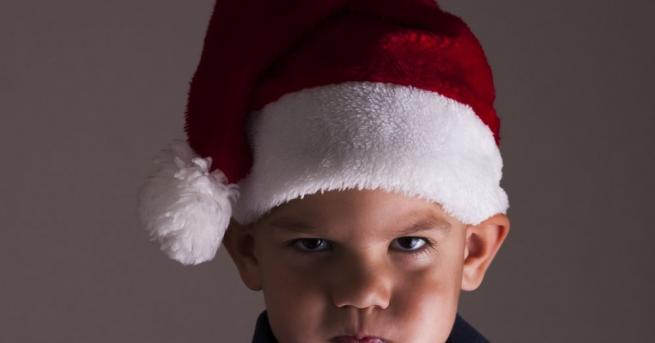 Разгневено от получените коледни подаръци дете в германския град Олденбург