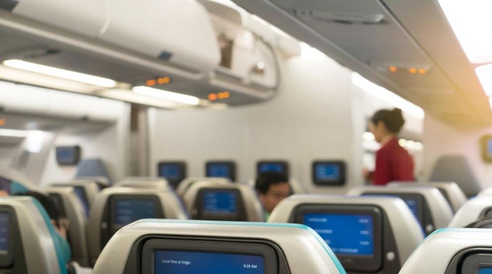 Баща на стюардеса летя с нея на Коледа