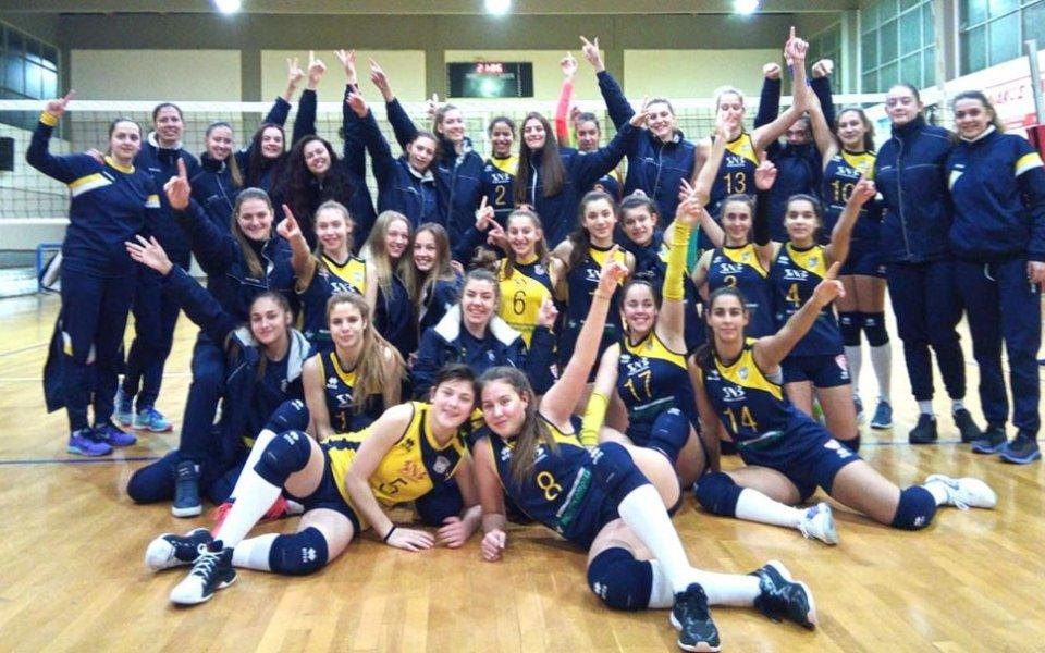 Девойките на Марица с нов успех в Гърция, взеха гейм на нула